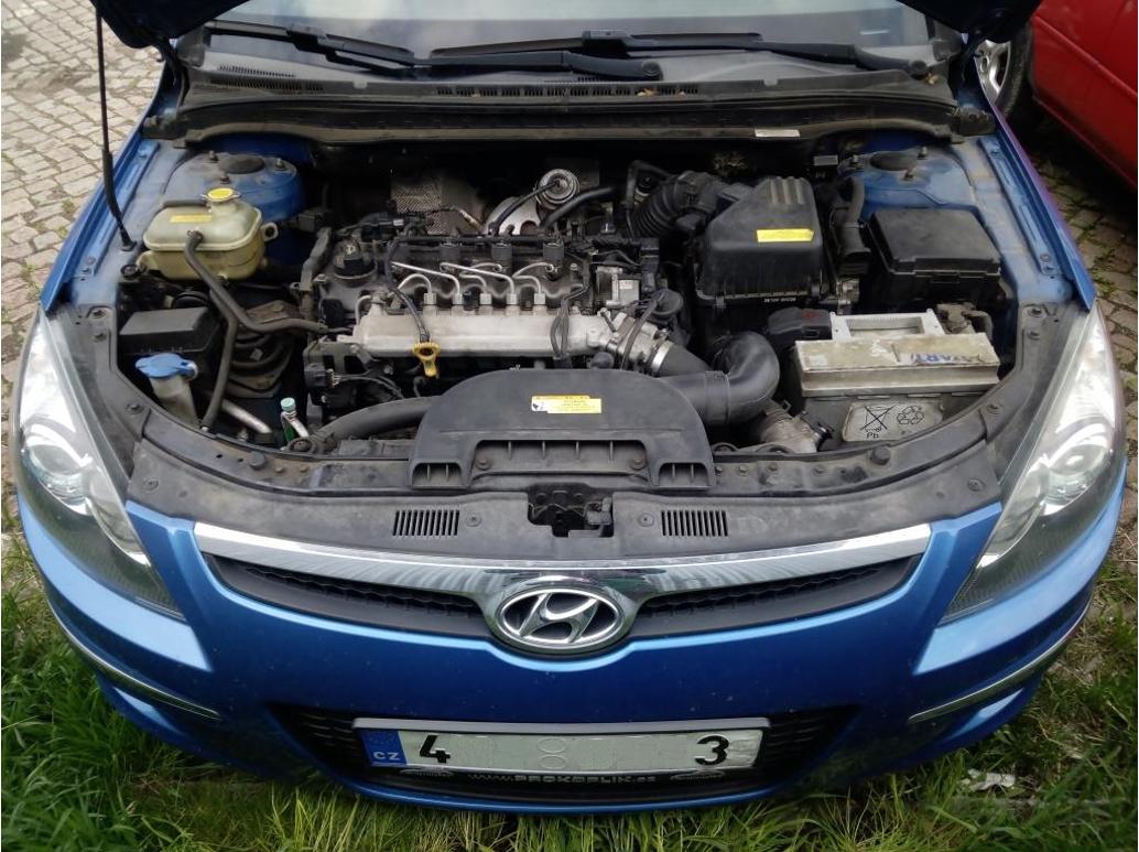 Hyundai I30 – špatné studené starty